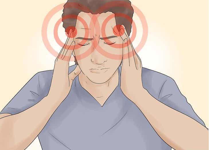 Los síntomas del dolor de cabeza por estrés