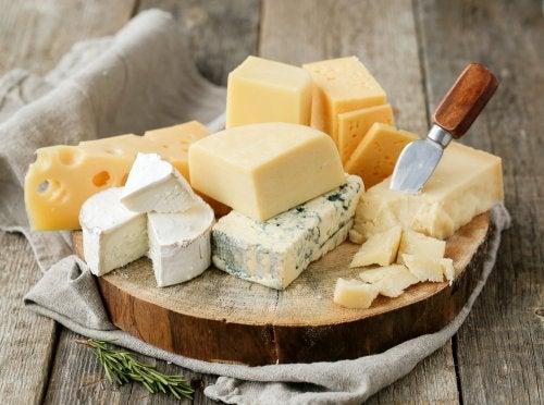 Los tipos de queso más saludables