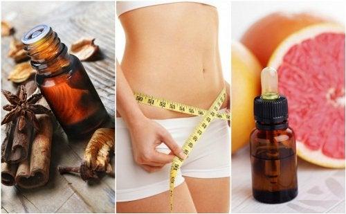 6 aceites esenciales que te ayudan a bajar de peso