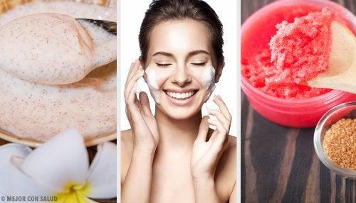 4 exfoliantes corporales con azúcar para combatir la piel seca