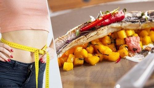 7 cenas para perder peso en una semana sin pasar hambre