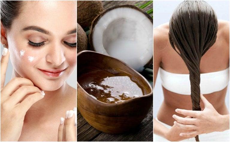 ¿Conoces los usos cosméticos del aceite de coco? Descubre 5 tratamientos