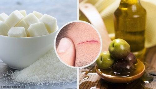 Recetas caseras para reducir cicatrices