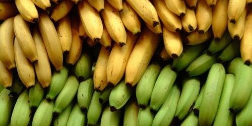 3 diferencias nutricionales entre la banana y el plátano