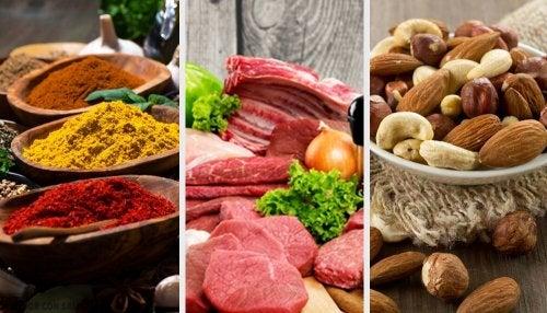 8 alimentos con alto contenido de cobre