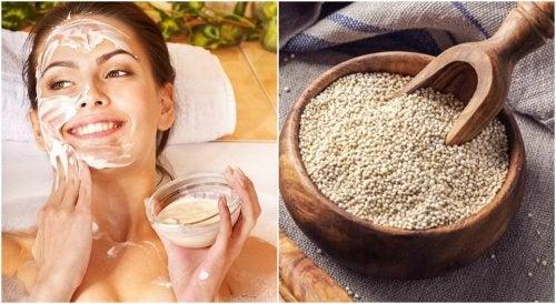 ¿Por qué deberías lavarte la cara con quinoa? Descubre cómo hacerlo