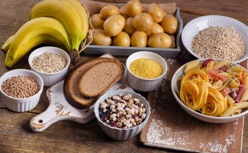 8 alimentos ricos en carbohidratos