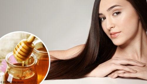 Beneficios de la miel para el cabello