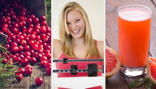 6 frutas que te ayudarán a perder peso fácilmente