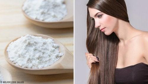 Bicarbonato de sodio para un cabello saludable