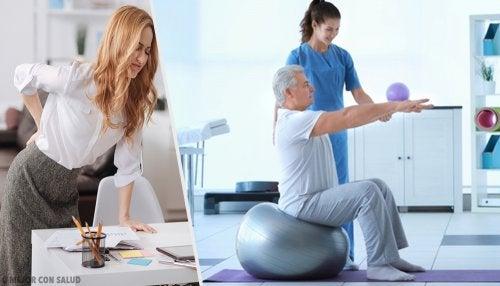 Tratamiento y rehabilitación para pacientes con ciática