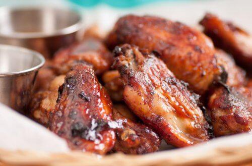 Pollo al horno con sirope de arce