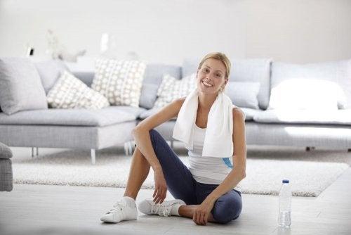 5 excelentes ejercicios que requieren poco espacio