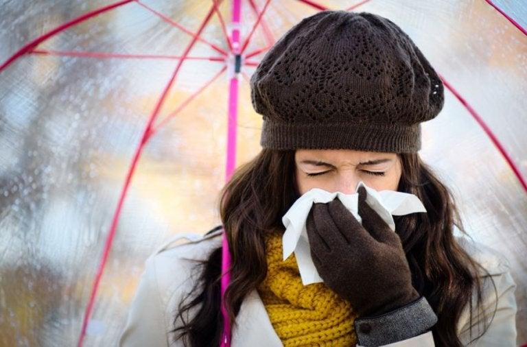 Evitar un resfriado en tiempos de invierno
