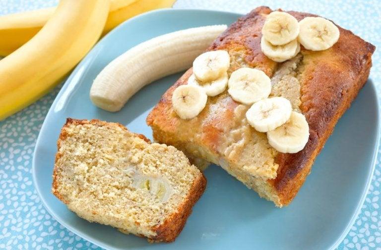 3 formas de hacer torta de plátano en casa