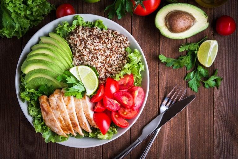 7 menús diarios para una dieta saludable