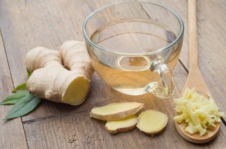 6 maneras de emplear jengibre en el tratamiento de la tos