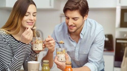 Receta para preparar batidos con leche de avena