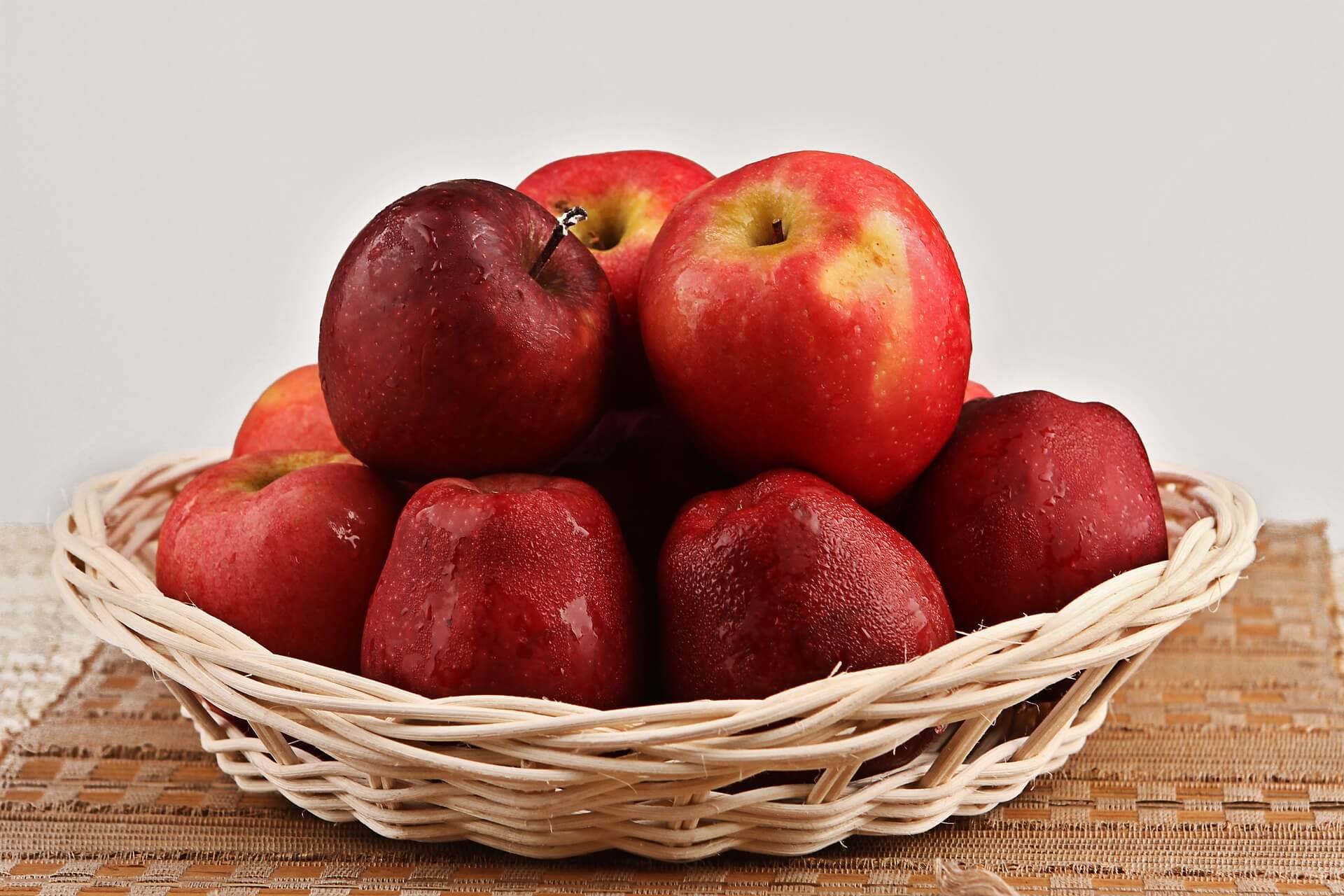 Manzanas rojas: alimentos para regular tu glucosa