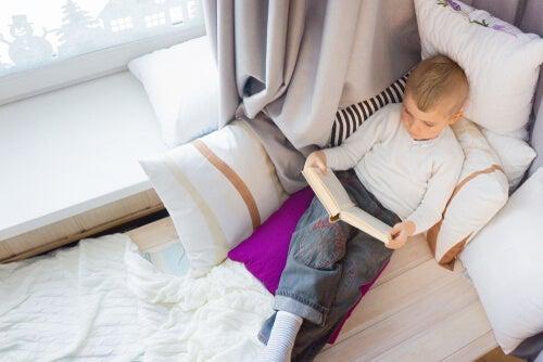 ¿Cómo crear un buen rincón de lectura para niños?