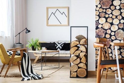 Consejos para darle un estilo rústico a la sala de estar