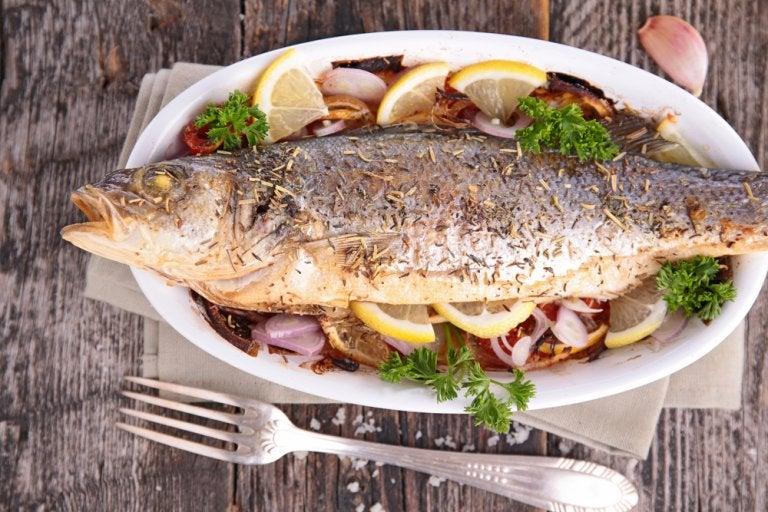 Receta con trucha contra el colesterol