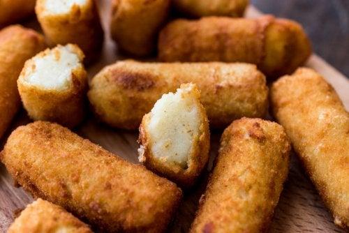 Receta baja en calorías: croquetas de tofu y calabacín