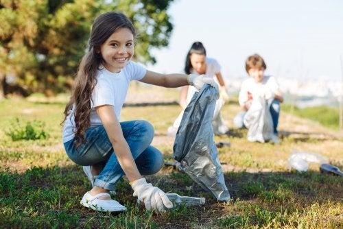 Cómo enseñar a tu hijo a cuidar el medio ambiente