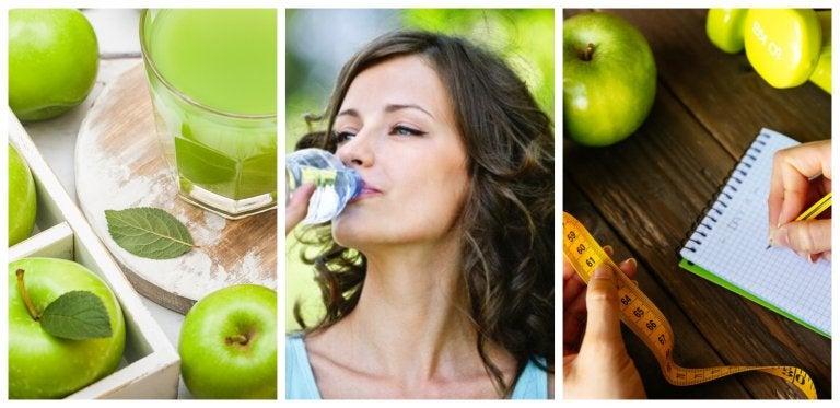 La dieta de la manzana para reducir el abdomen