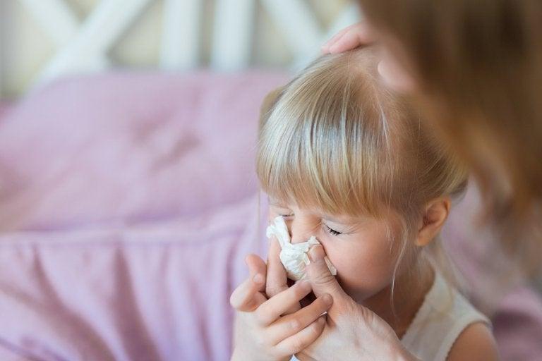 5 maneras efectivas de eliminar los mocos de tu hijo