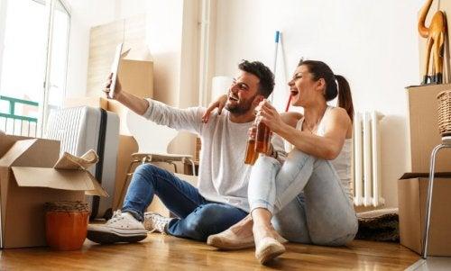 7 cosas que suceden cuando vas a vivir en pareja