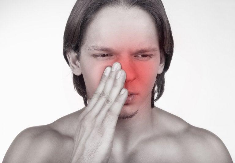 Crema reparadora de rábano para combatir la sinusitis
