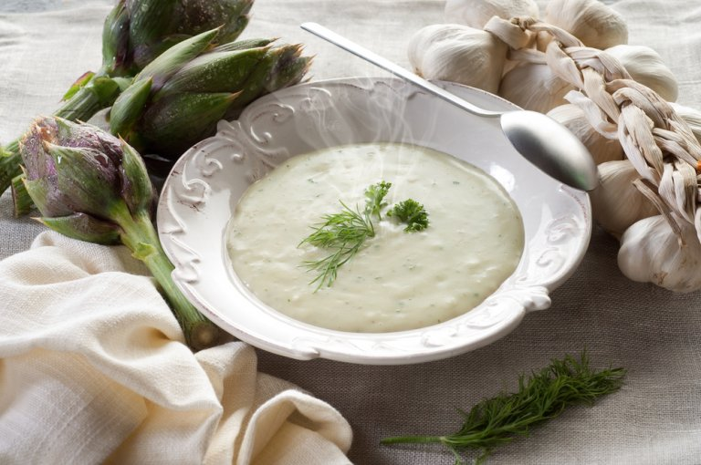 Las mejores recetas de crema de alcachofa