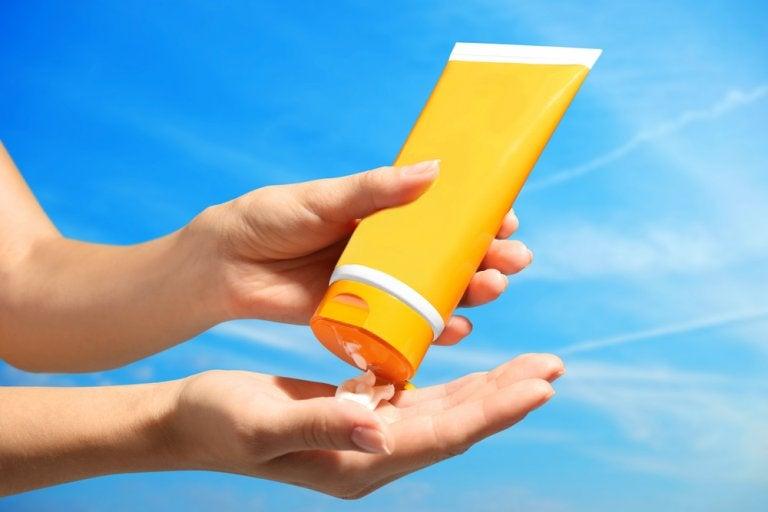 El protector solar de acuerdo con el tipo de piel