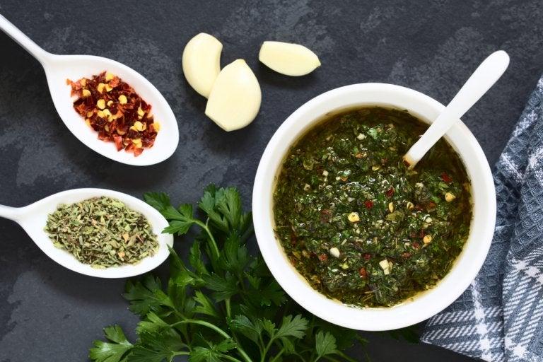 Salsa de chimichurri: un aderezo saludable
