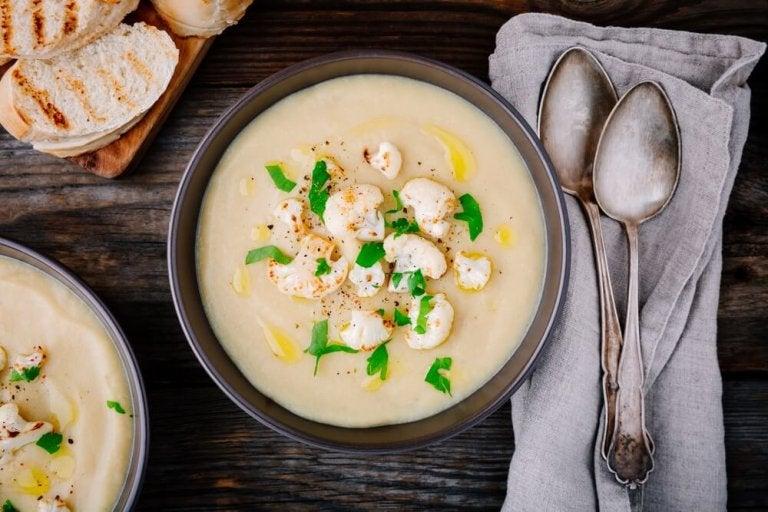 Consejos para preparar sopas rápidas, deliciosas y saludables