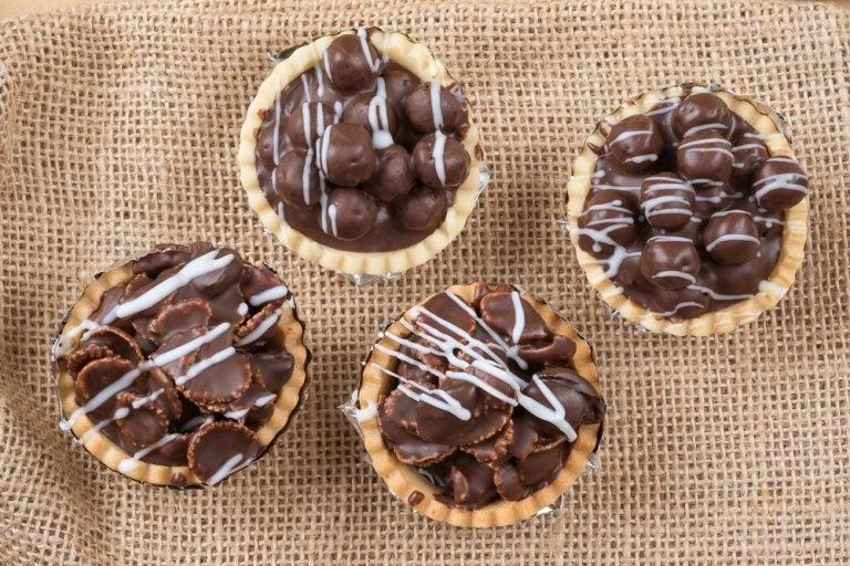 Receta de tartaleta de chocolate, una delicia para disfrutar