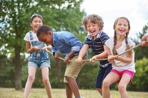 5 juegos para los niños sin usar la tecnología