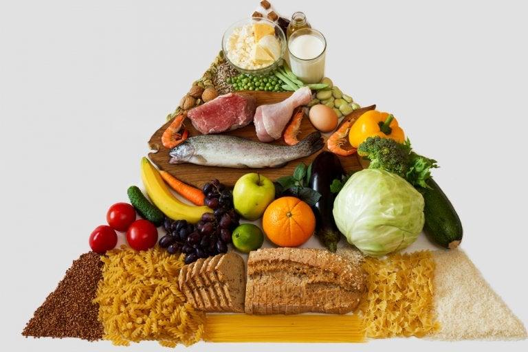 Descubre aquí la nueva pirámide de la alimentación saludable