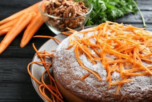 ¿Cómo hacer torta de zanahoria sin azúcar?