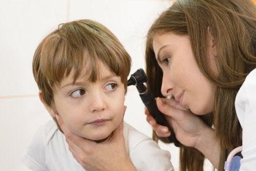 Dolor de oídos en los niños