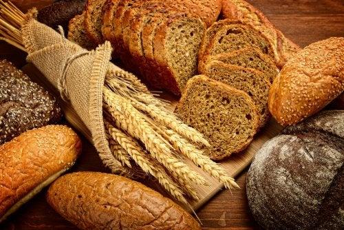 Pan de espiga, integral y saludable