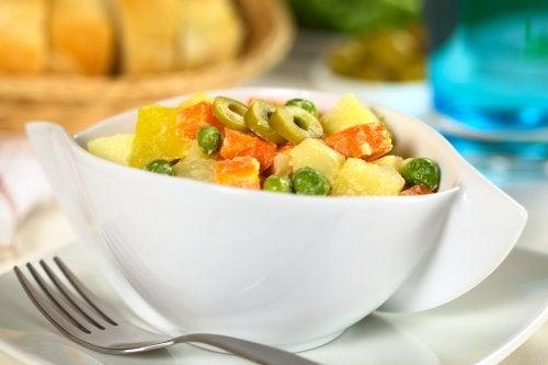 Cómo saber qué ensalada es mejor según el plato principal