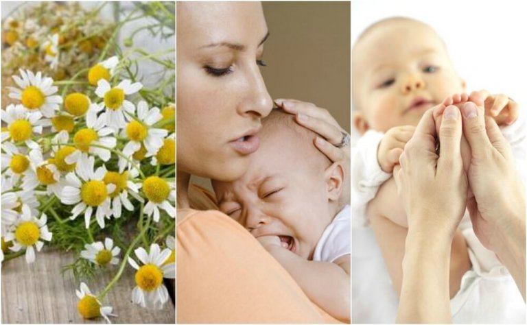 5 remedios naturales para los cólicos del lactante