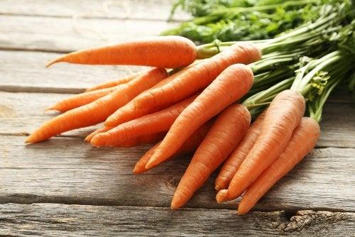 Propiedades de la zanahoria relacionadas con la salud