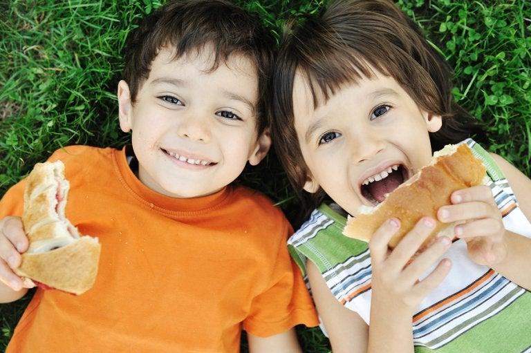 7 errores de alimentación en los niños