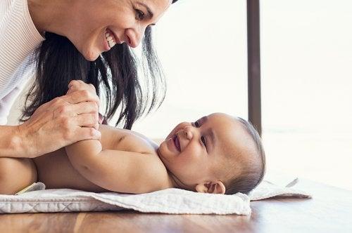 La higiene íntima del recién nacido