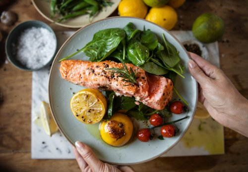 Receta de salmón con salsa de soja y miel