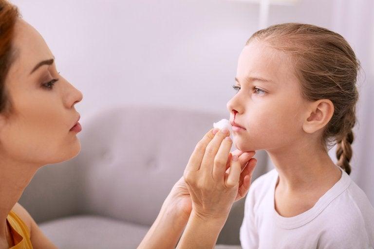 Hemorragias nasales en los niños: ¿Cómo manejarlas?