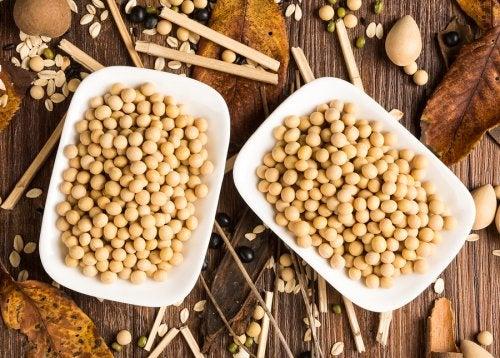 Beneficios de incluir soja en la dieta